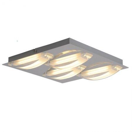 n ve leuchten no 1236842 n led deckenleuchte chrom 30 cm eur 76 15 leuchten lampen led. Black Bedroom Furniture Sets. Home Design Ideas