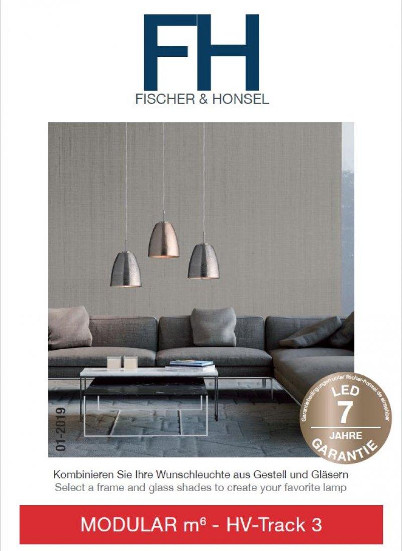 fischer m6 hv track 3 no 13088 spotkopf 1 flammig led. Black Bedroom Furniture Sets. Home Design Ideas