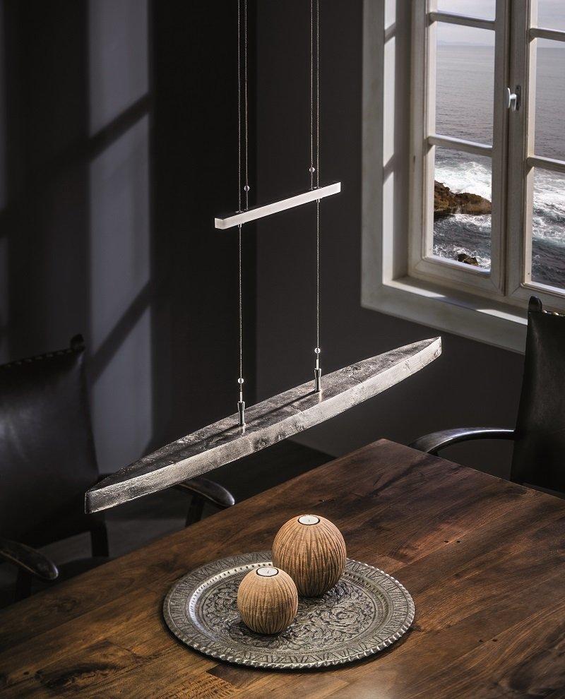shine alu no 13195 pendel 5 flammig led nickel antik nickel matt eur 558 60 leuchten. Black Bedroom Furniture Sets. Home Design Ideas