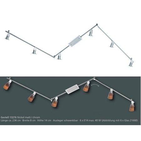fischer m6 spot 17 no 13276 deckenleuchte 6 flammig. Black Bedroom Furniture Sets. Home Design Ideas
