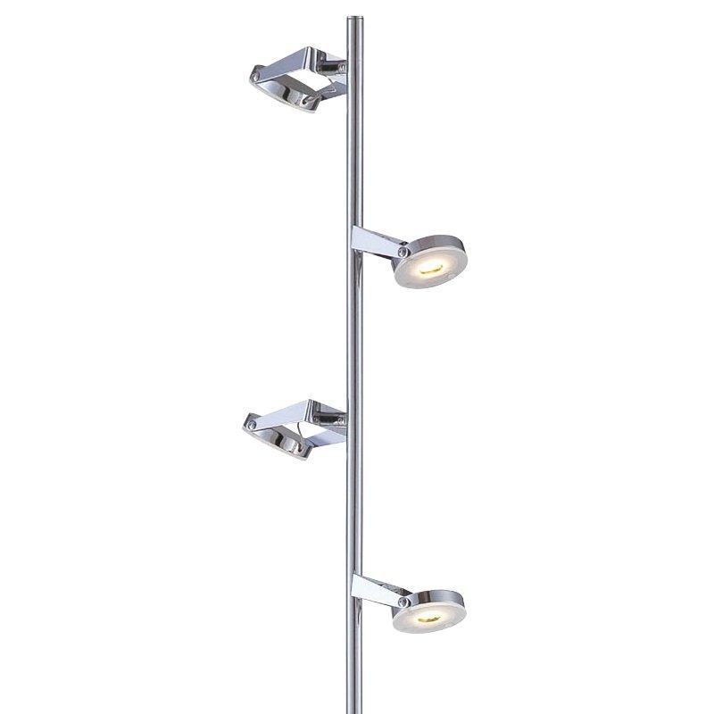 n ve leuchten no 2030842 n led stehleuchte chrom 154 cm eur 281 20 leuchten lampen led. Black Bedroom Furniture Sets. Home Design Ideas