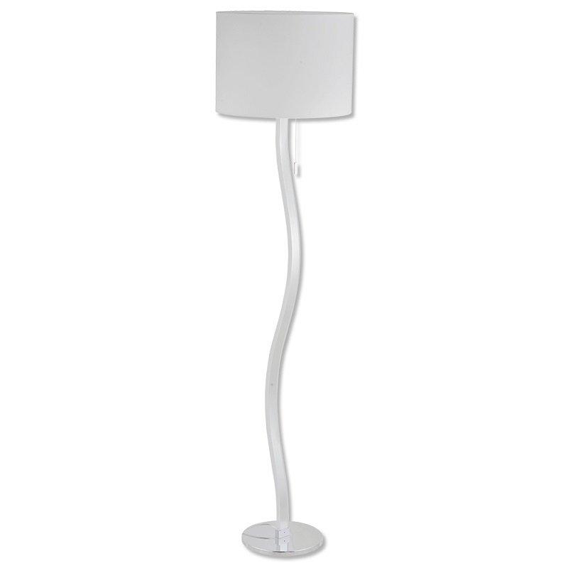 Näve Leuchten No. 2065423-N LED Stehleuchte Chrom, Weiß 163 cm, EUR ...