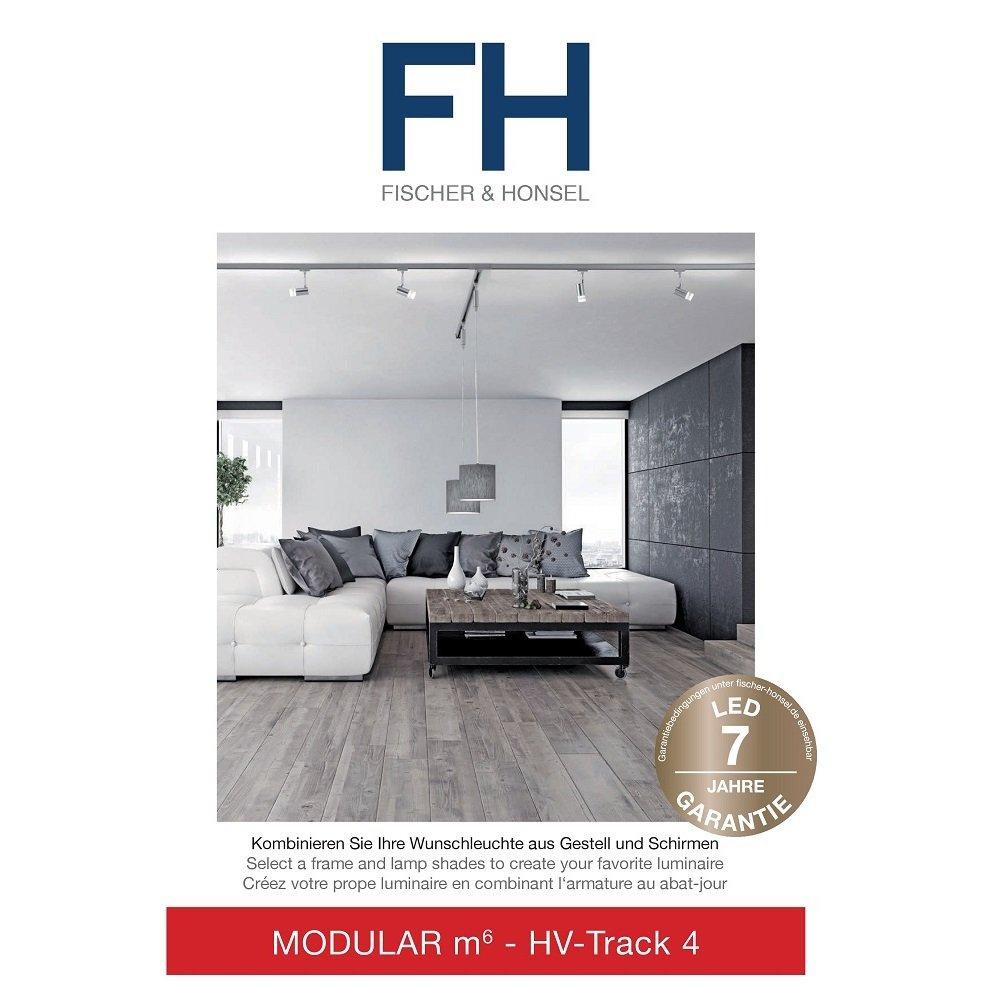 fischer m6 hv track 4 no 24540 stromschienen verbinder nickel matt eur 38 75 leuchten. Black Bedroom Furniture Sets. Home Design Ideas
