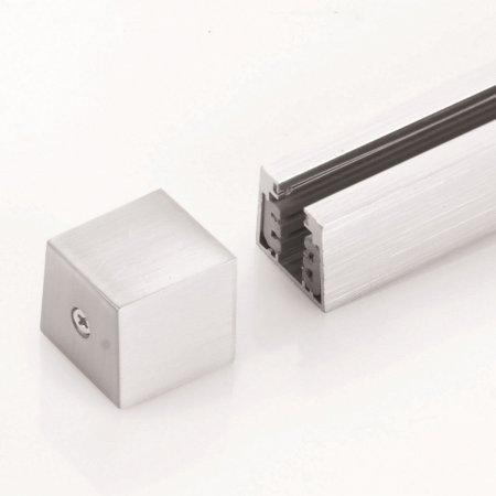 fischer m6 hv track 4 no 24550 stromschienen endkappe nickel matt eur 6 25 leuchten. Black Bedroom Furniture Sets. Home Design Ideas