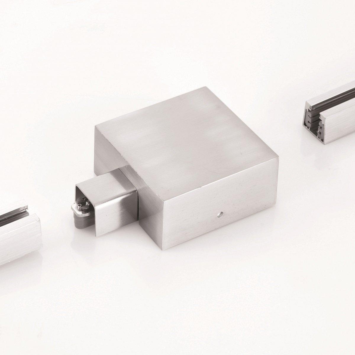 fischer m6 hv track 4 no 24580 stromschienen endeinspeisung nickel matt eur 54 20. Black Bedroom Furniture Sets. Home Design Ideas