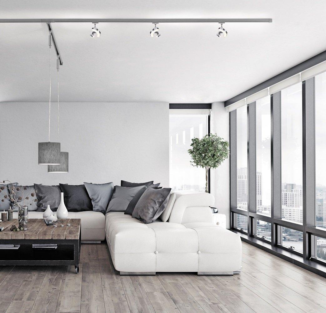 fischer m6 hv track 4 no 25010 stromschienen. Black Bedroom Furniture Sets. Home Design Ideas