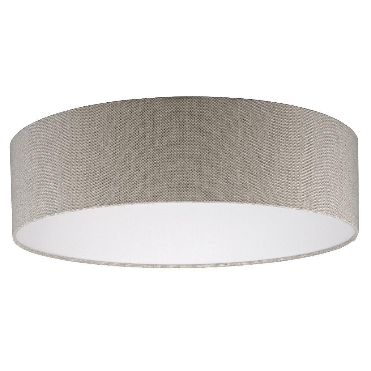 Fischer Leuchten Lampenschirm No 29860 Stoff Leinen Sandfarben 50
