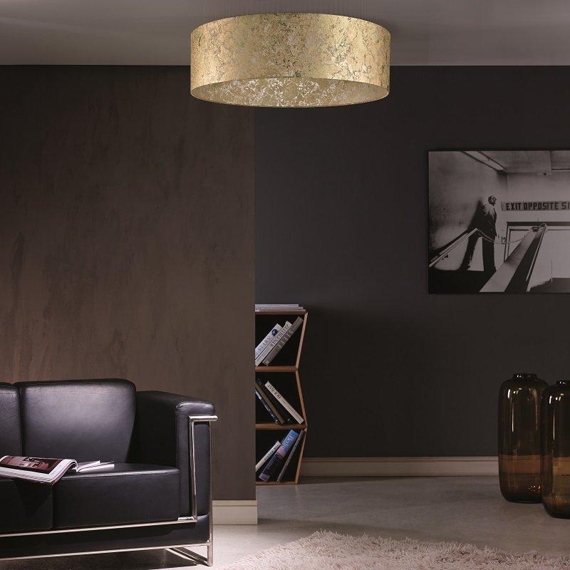 fischer leuchten lampenschirm no 30780 blattgold transparent 60 cm eur 131 75 leuc. Black Bedroom Furniture Sets. Home Design Ideas
