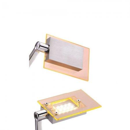 fischer m6 led 7 no 32230 acrylblende orange transparent. Black Bedroom Furniture Sets. Home Design Ideas