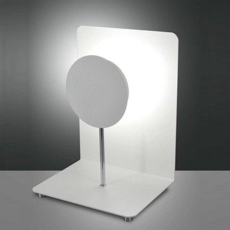LED Design Wand Leuchte Lampe Full Moon Fabas Luce 3247-22-102 weiß dimmbar