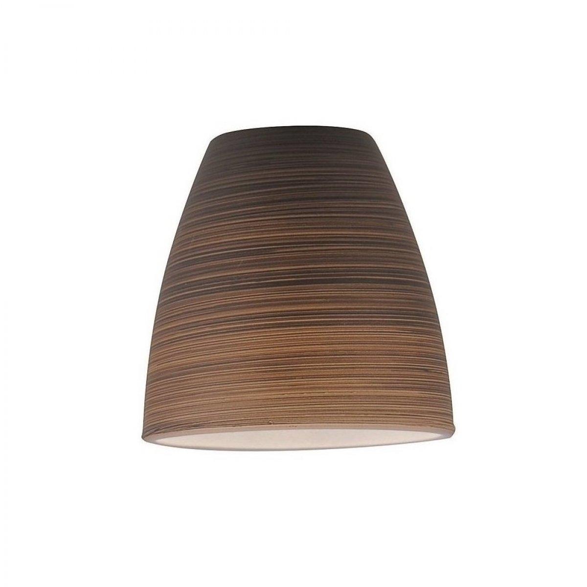 fischer m6 glas lampenschirm no 33770 glas graubraun gewischt eur 10 00 leuchten lampen. Black Bedroom Furniture Sets. Home Design Ideas