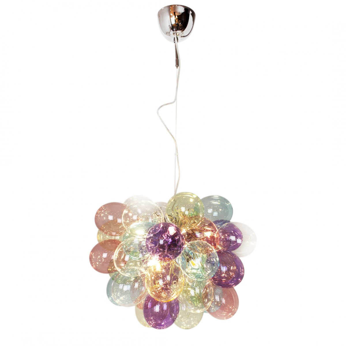 By Rydéns 4200440 7000 Pendelleuchte Gross 8 flammig 50 cm multicolor