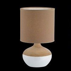 honsel leuchten no 56192 h tischleuchte norwich wei braun 32 cm eur 15 40 leuchten. Black Bedroom Furniture Sets. Home Design Ideas