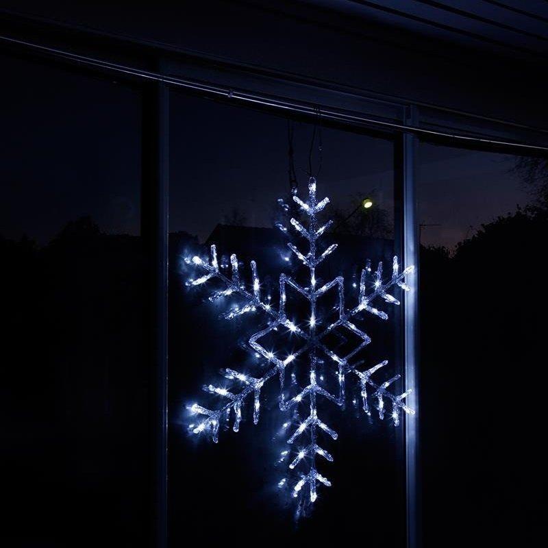 led acryl schneeflocke antarctica 100 cm indoor outdoor. Black Bedroom Furniture Sets. Home Design Ideas