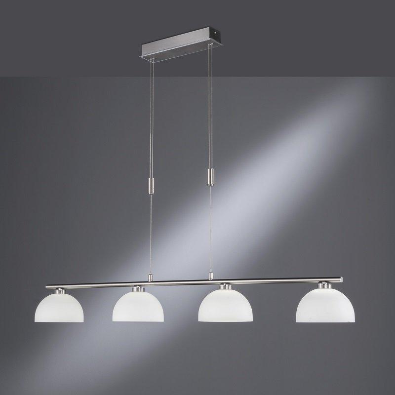Shine LED No. 60189 LED Pendelleuchte 4-flammig nickel