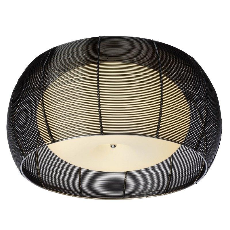 brilliant living leuchten no 61180 76 deckenleuchte relax chrom schwarz 50 cm eur 190 40. Black Bedroom Furniture Sets. Home Design Ideas