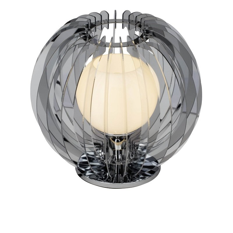 brilliant living leuchten no 62547 15 tischleuchte universe chrom wei 30 cm eur 127 98. Black Bedroom Furniture Sets. Home Design Ideas