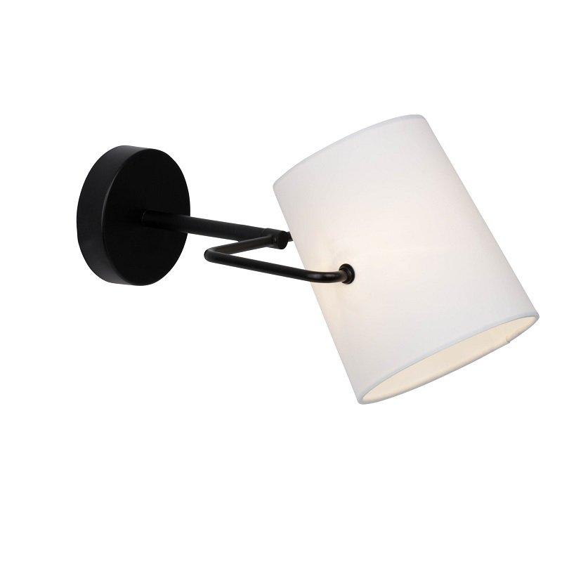 brilliant leuchten no 63110 76 wandleuchte bucket 1 flammig wei schwarz eur 25 00. Black Bedroom Furniture Sets. Home Design Ideas