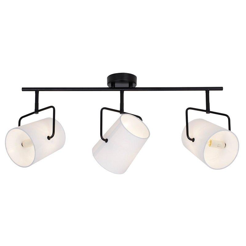 brilliant leuchten no 63116 76 deckenleuchte bucket 3 flammig wei schwarz eur 90 10. Black Bedroom Furniture Sets. Home Design Ideas