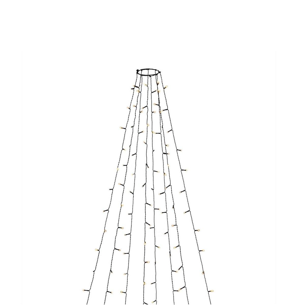 Konstsmide No 6321 810 Led Baummantel 400 Bernsteinfarbene Dioden Glimmereffekt Ip44 Lampen Leuchten Gunstig Kauf