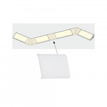 Kunst Paulmann Delta Profil Cover 4er// Inside Corner 2er// Corner 2er Pack Satin