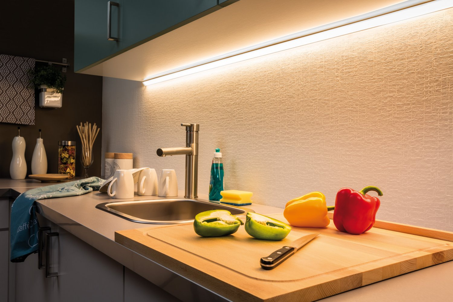 paulmann no. 70676 maxled 1000 strip 1m warmweiß beschichtet , eur ... - Küchenbeleuchtung Unterbau Led