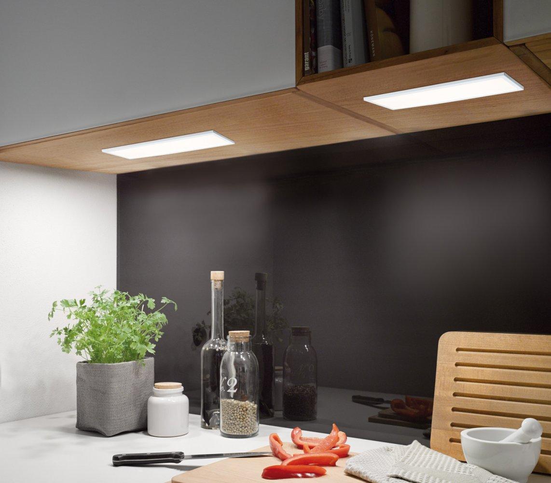 Paulmann No. 70777 Unterschrank-Panel LED Ace 7,5W Weiß 10x30cm ...