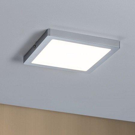 Led Lampen Panel : Paulmann no led panel atria eckig w chrom matt dimmbar