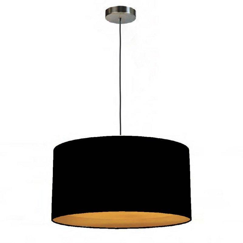 pendelleuchte edition glas kristall simple round one 40 schwarz gold baumwolle eur 69 90. Black Bedroom Furniture Sets. Home Design Ideas