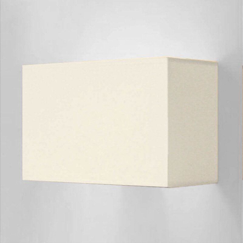 wandleuchte edition glas kristall no 73008 lk creme lampenschirm creme rechteckig eur 59 00. Black Bedroom Furniture Sets. Home Design Ideas