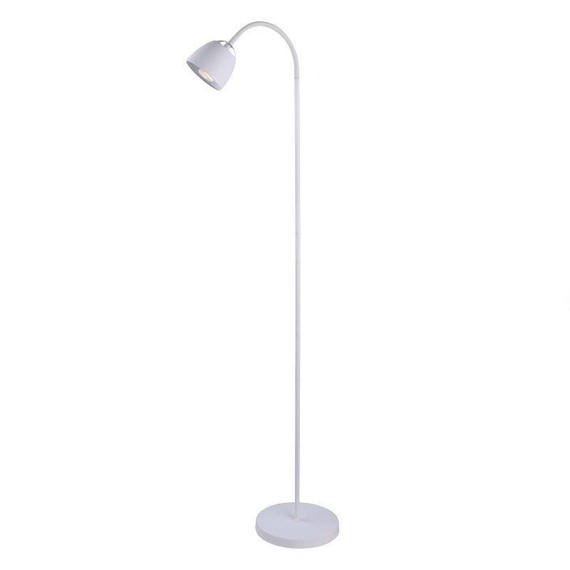 Stehlampe mit 2 Lampen Stand Leuchte LED Stehleuchte Stand