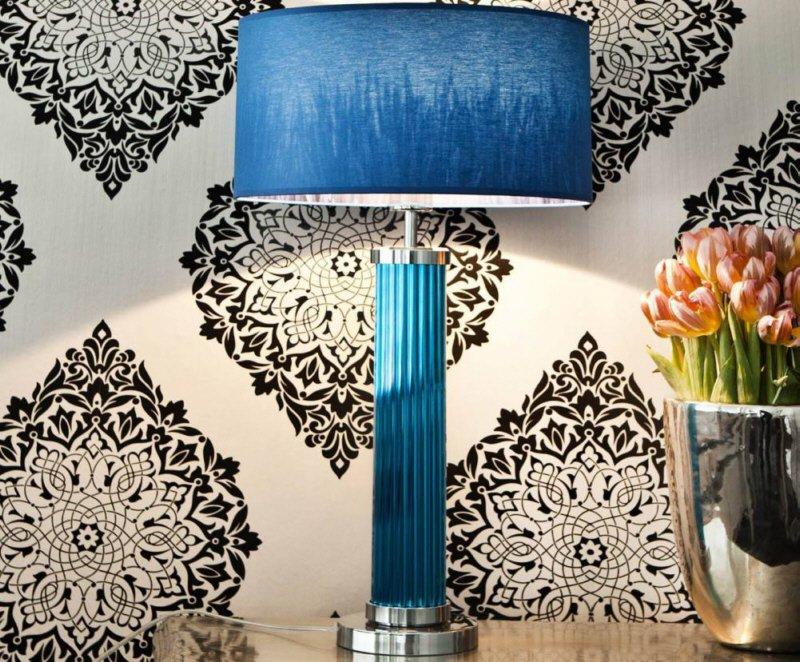 ikea lampe glas blau leuchten koppar aus farbigem glas bei ikea sch ner wohnen avec. Black Bedroom Furniture Sets. Home Design Ideas