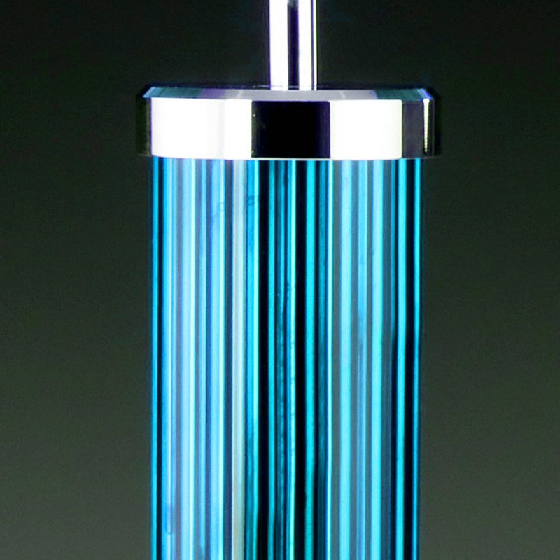 Tischleuchte edition glas kristall no 75205 lk tube for Weihnachtskugeln glas grau