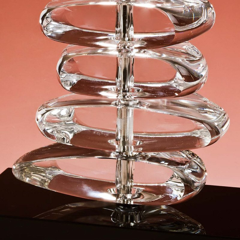 tischleuchte edition glas kristall no 75310 lk stones eur 429 00 leuchten lampen led. Black Bedroom Furniture Sets. Home Design Ideas