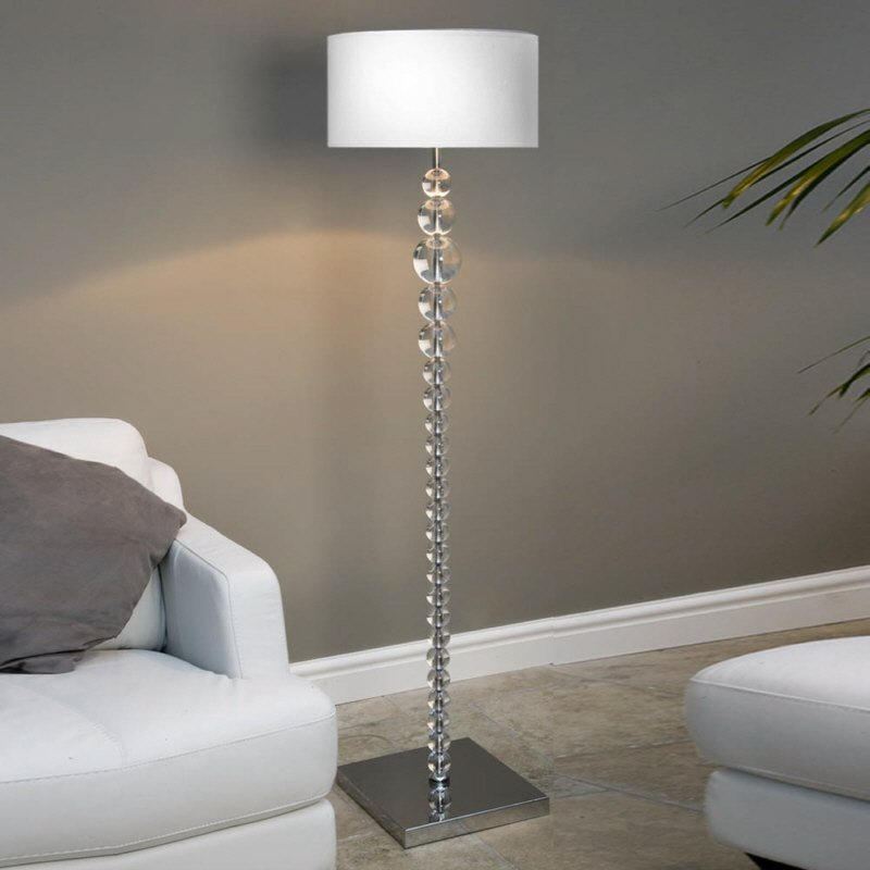 stehleuchte edition glas kristall no 78050 lk solid balls. Black Bedroom Furniture Sets. Home Design Ideas