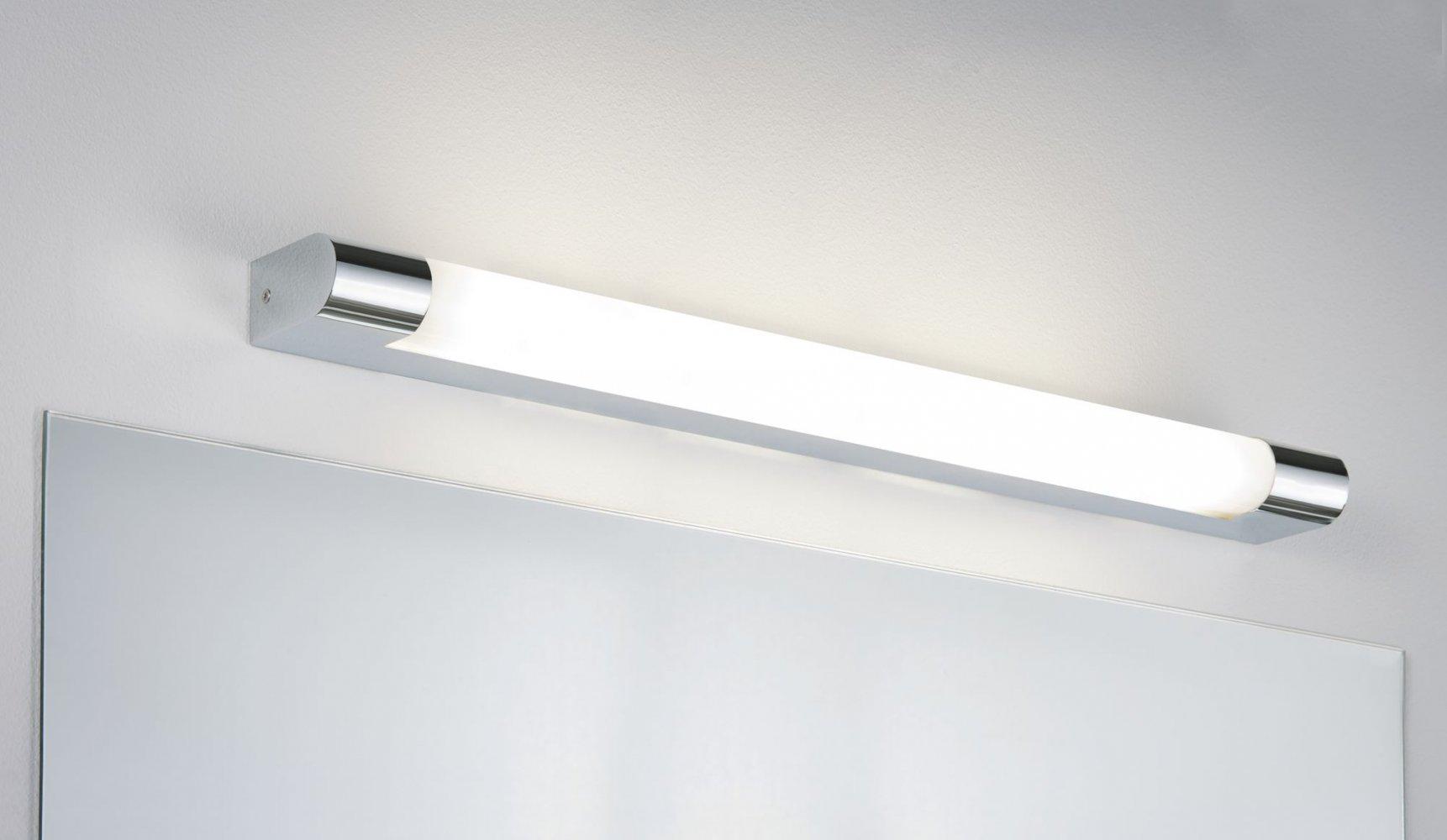Paulmann No. 20 Spiegelleuchte LED Mizar IP20 Steckdose 20,20W Chrom 20 cm