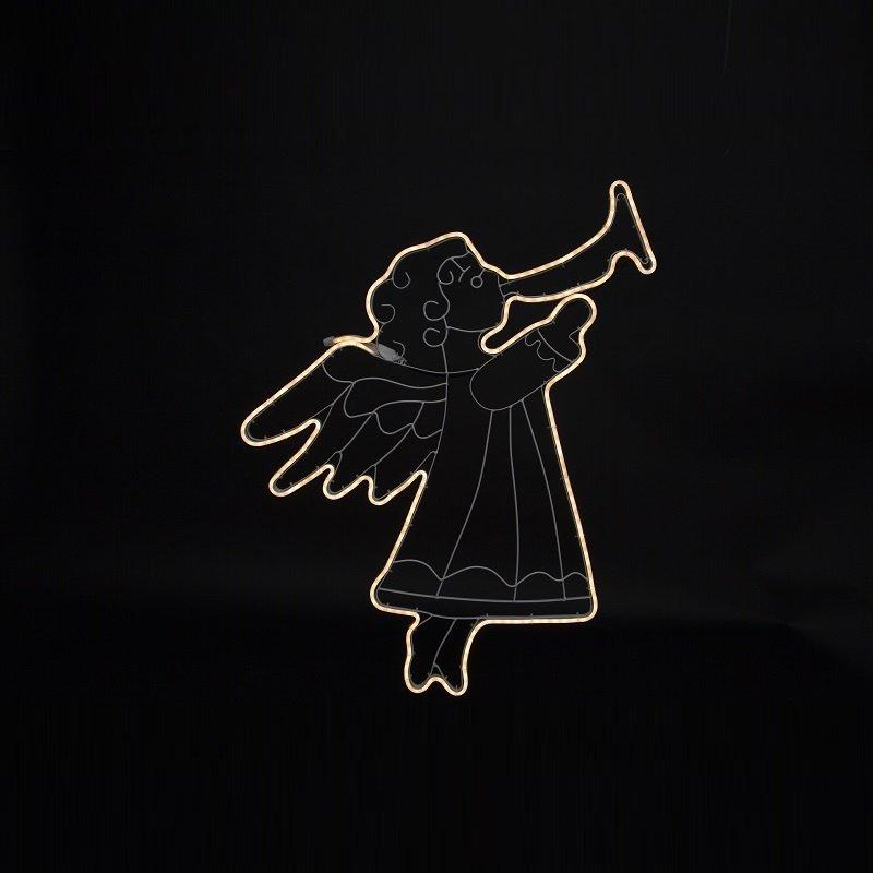 Weihnachtsbeleuchtung Engel.Led Silhouette Neoled Engel Nr 807 15