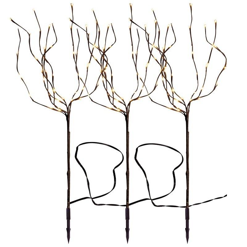 led gartenbeleuchtung und gartenlampen 80 ideen, led-tobby tree brown 90 x 200 cm nr. 860-24, eur 26,80 --> leuchten, Design ideen