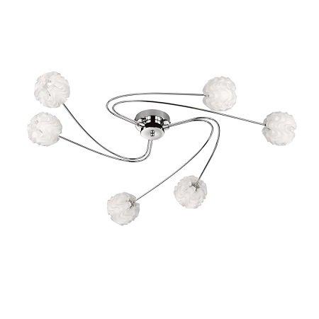 wofi leuchten deckenleuchte maya wei 6 flammig eur 126 90 leuchten lampen led g nstig. Black Bedroom Furniture Sets. Home Design Ideas
