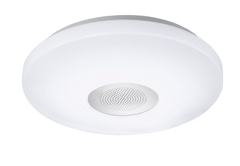 WOFI Leuchten LED Deckenleuchte SPA LINE ZON Weiß, 1-flammig IP 44 ...