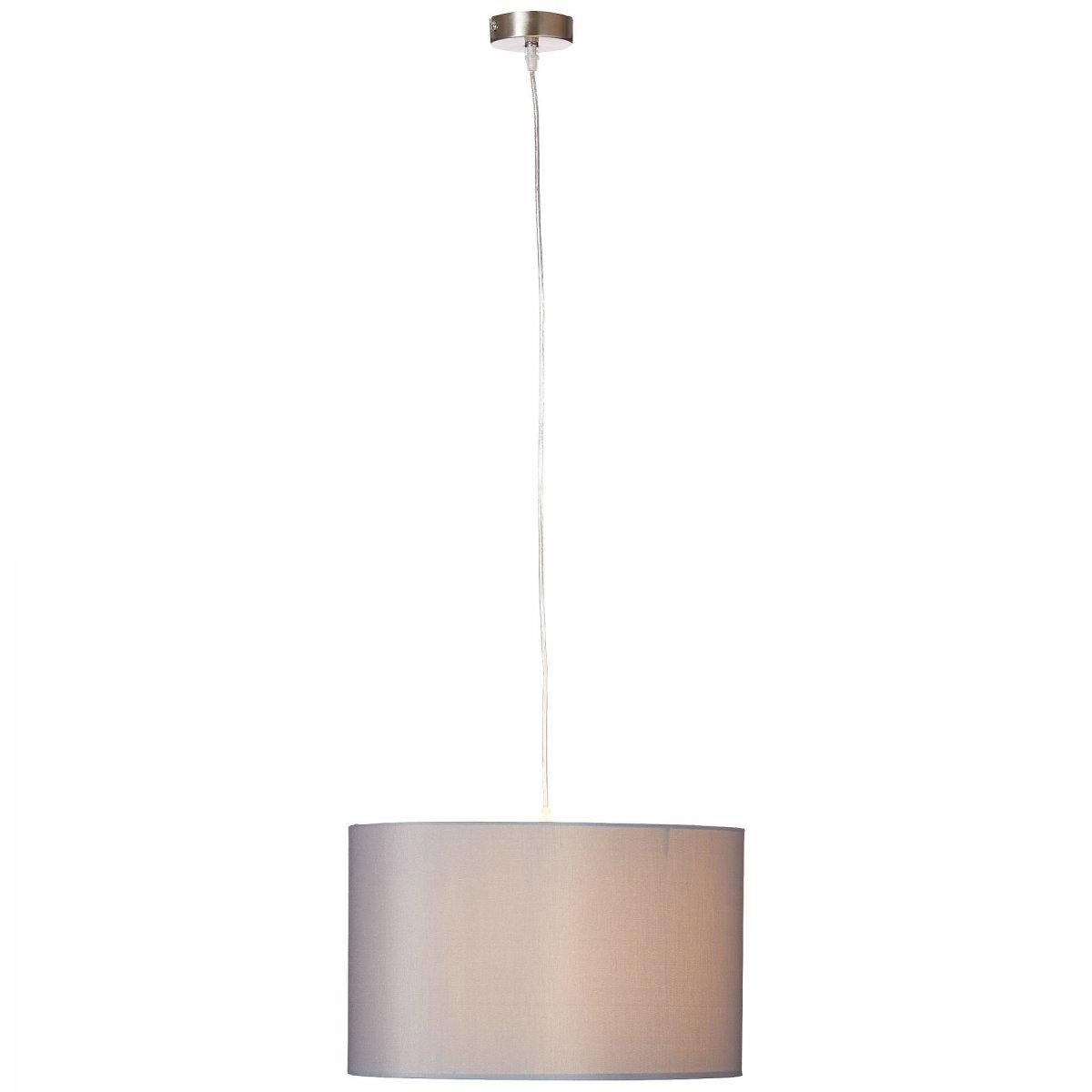 brilliant leuchten no 93374 22 pendelleuchte claire 1 flammig grau eur 49 48 leuchten. Black Bedroom Furniture Sets. Home Design Ideas