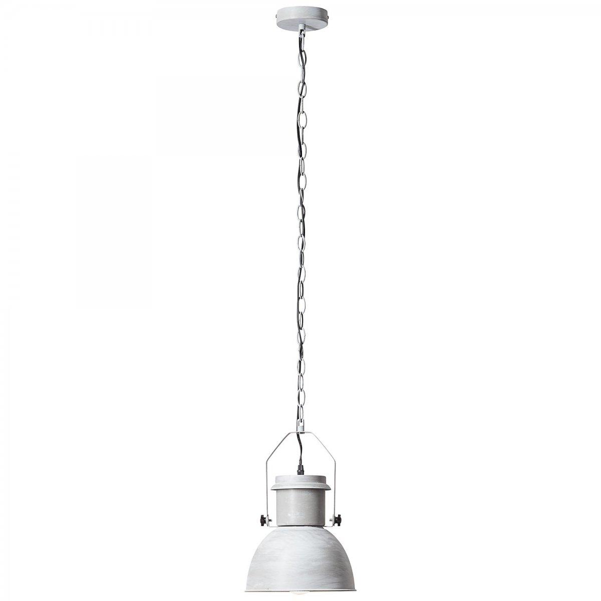brilliant leuchten no 93590 70 pendelleuchte salford 1 flammig grau beton eur 33 48. Black Bedroom Furniture Sets. Home Design Ideas