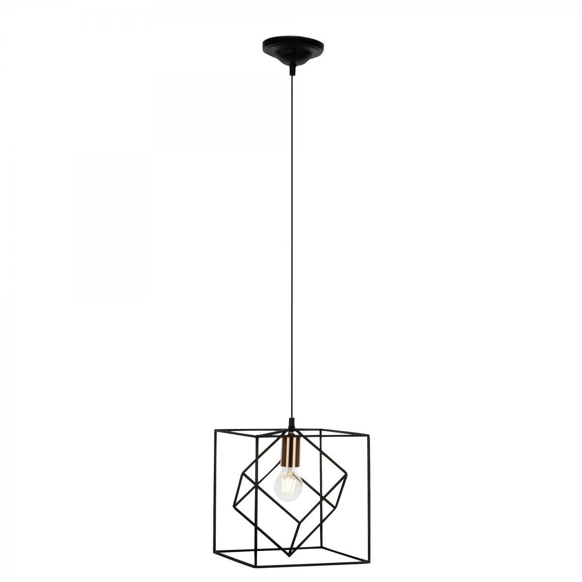 brilliant leuchten no 93594 76 pendelleuchte tycho 1 flammig schwarz kupfer eur 42 06. Black Bedroom Furniture Sets. Home Design Ideas