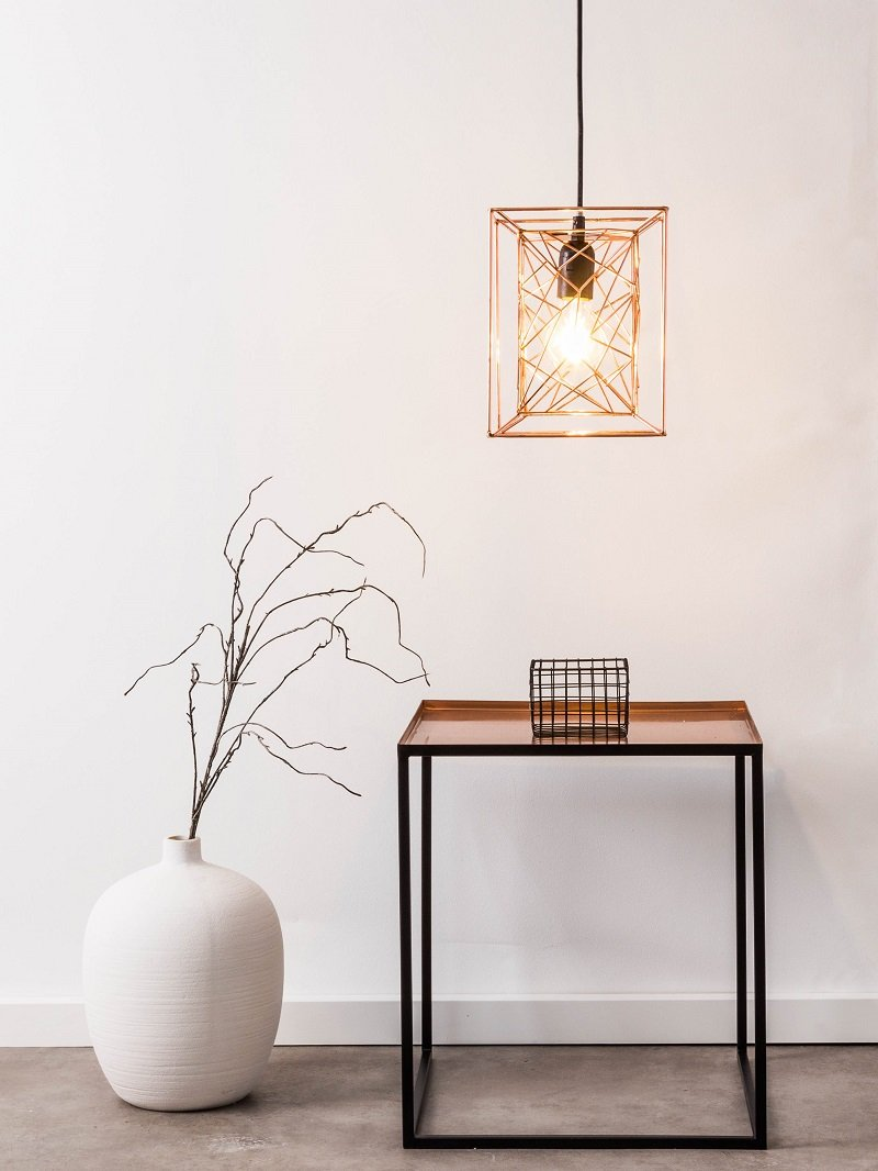 brilliant leuchten no 93612 29 pendelleuchte kago 1 flammig schwarz kupfer eur 36 78. Black Bedroom Furniture Sets. Home Design Ideas