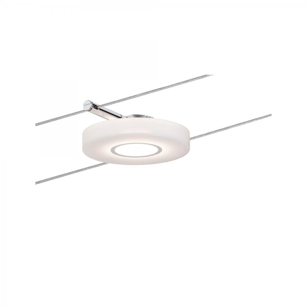 paulmann no 94090 seil leuchte led 1x4w discled i 12v dc chrom satin eur 24 26. Black Bedroom Furniture Sets. Home Design Ideas