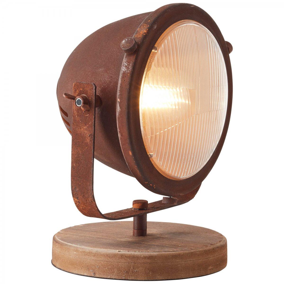 brilliant leuchten no 94928 60 tischleuchte carmen rost schwarz 31 cm eur 72 58 leuchten. Black Bedroom Furniture Sets. Home Design Ideas