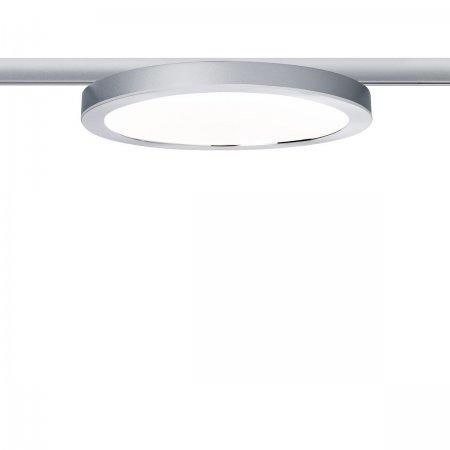 URail System LED Panel Ring 7W aus Aluminium und Kunststoff in chrom-matt