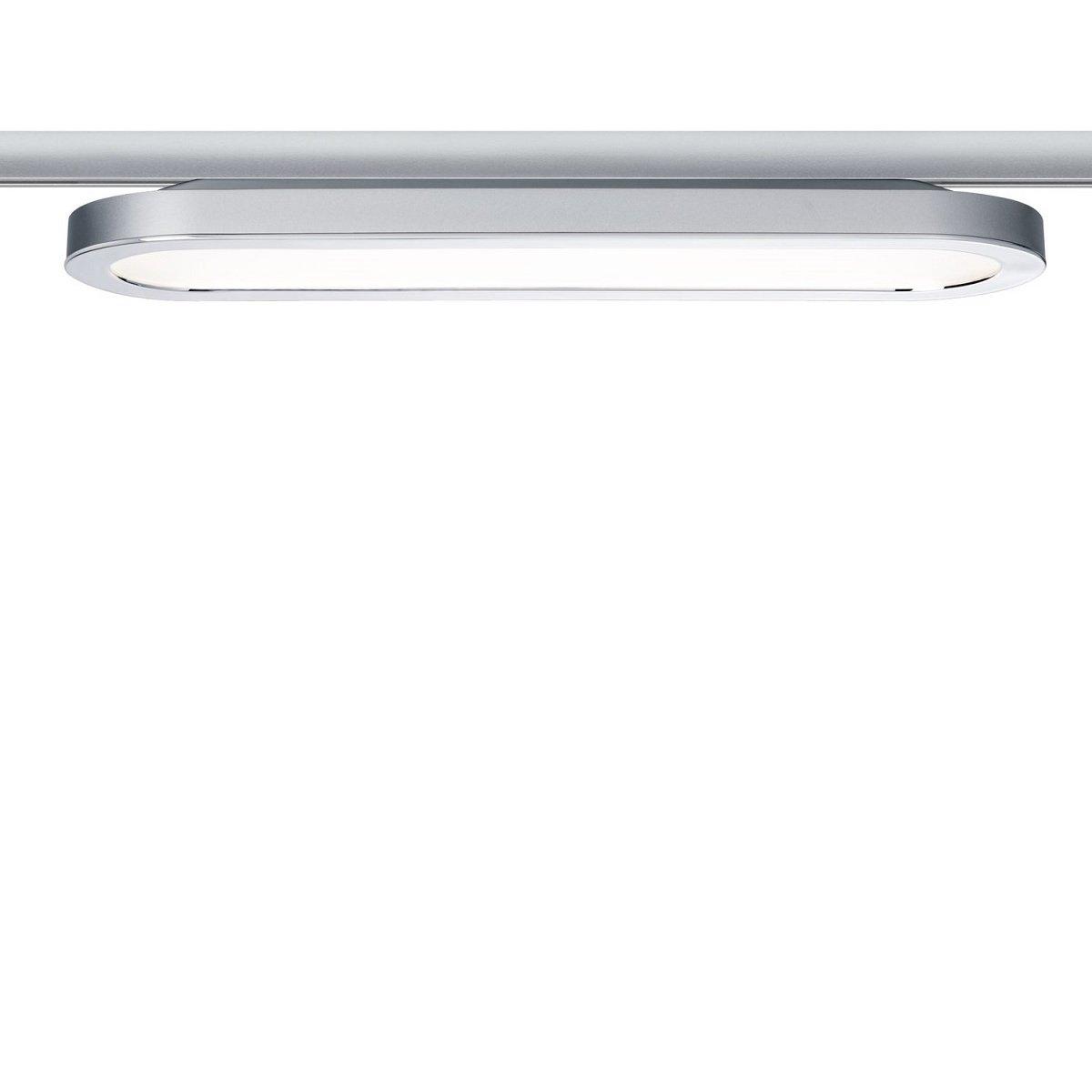 Led Lampen Panel : Paulmann design urail no urail led panel loop chrom matt w