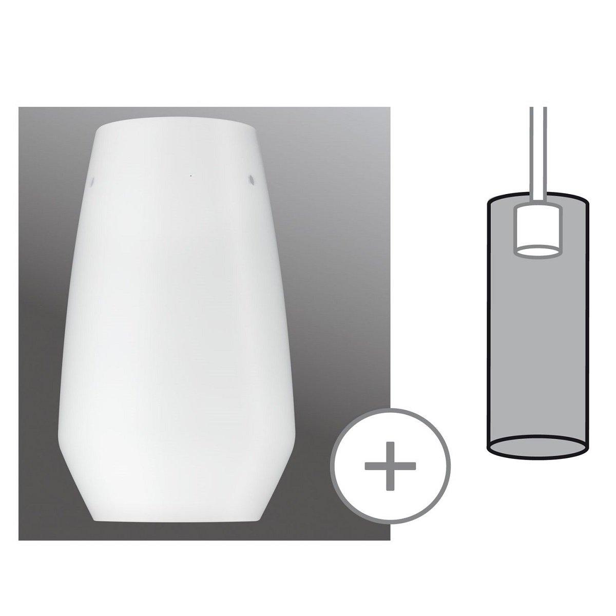 paulmann no 95351 lampenschirm urail 2easy glas vento. Black Bedroom Furniture Sets. Home Design Ideas