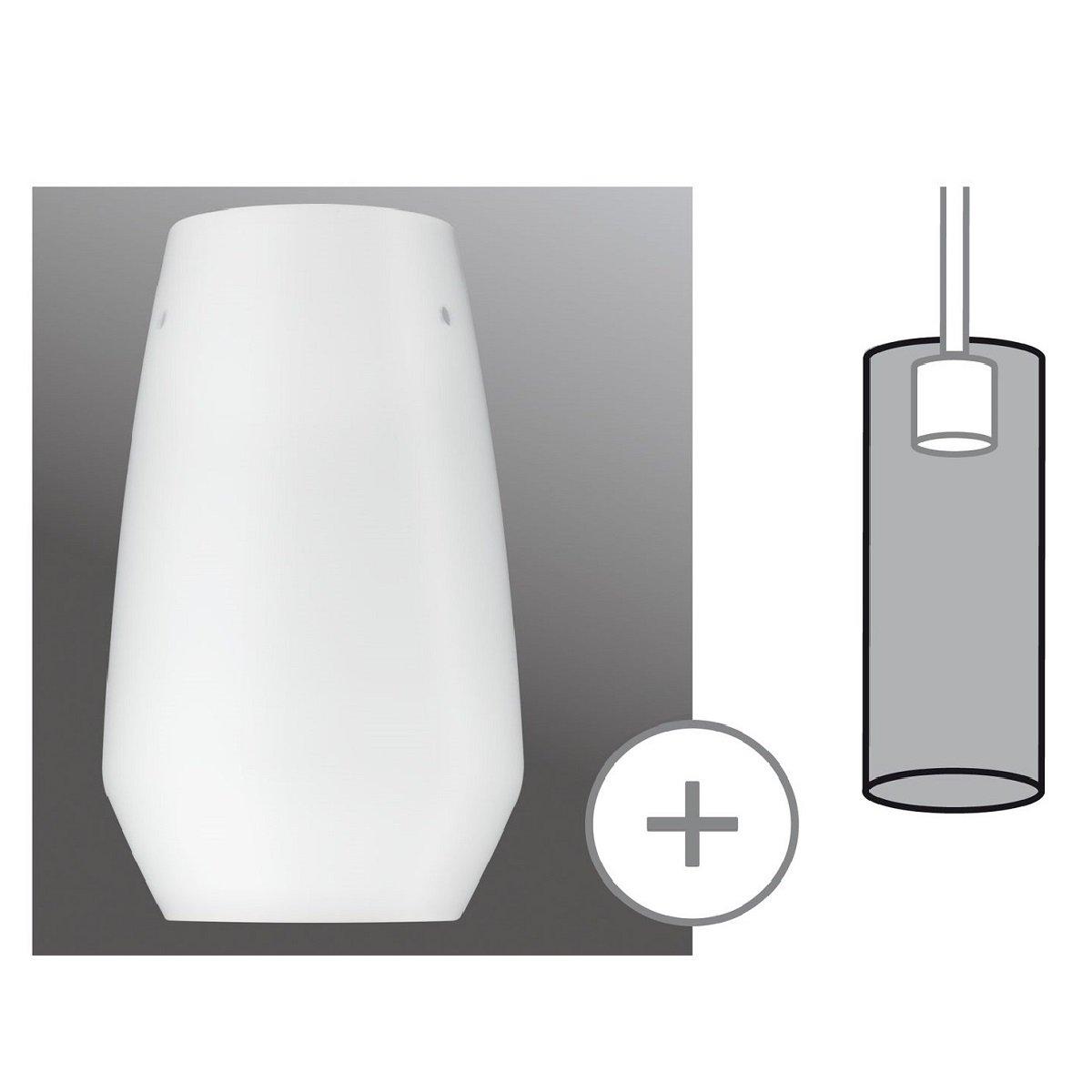 paulmann no 95354 lampenschirm urail 2easy glas vento opal glas eur 34 99 leuchten lampen. Black Bedroom Furniture Sets. Home Design Ideas